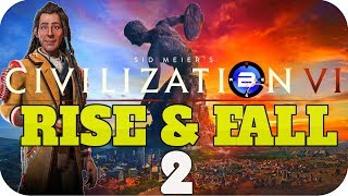 Video Civilization 6 RISE & FALL ▶POUNDMAKER of CREE◀ - EP2 Civ VI Rise and Fall New DLC download MP3, 3GP, MP4, WEBM, AVI, FLV Maret 2018