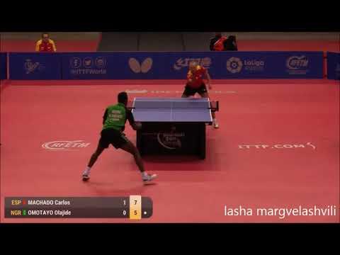Carlos Machado vs Olajide Omotayo (Spanish Open 2017)