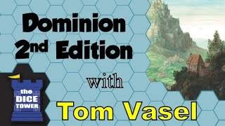 Dominion Second Edition Review - with Tom Vasel