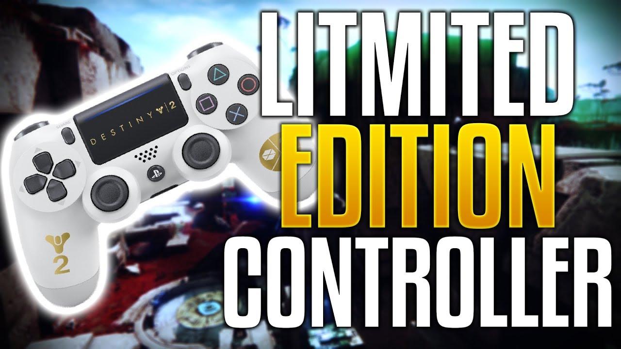 DESTINY 2 NEWS! Limited Edition Dualshock PS4 Controller for Destiny 2