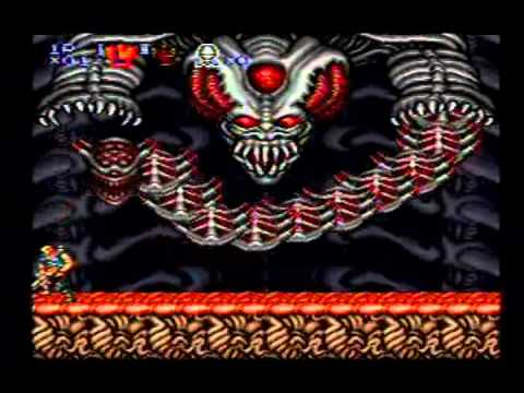 Contra III Gameplay Final Stage + Boss + Ending