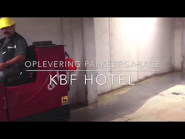 KBF hotel opleverschoonmaak bij Van Wijnen.