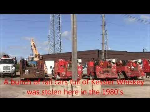 Chicago Northwestern-Fond du Lac Railyard POV Tour 2012 #2