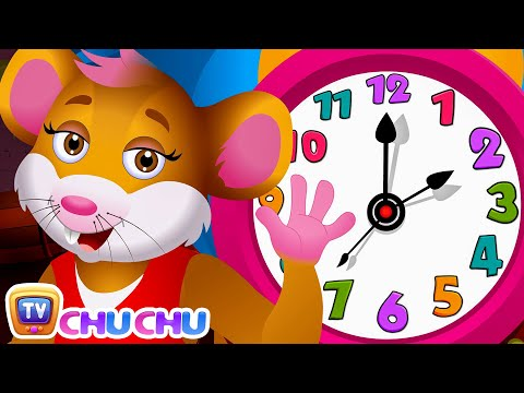 Thumbnail: Hickory Dickory Dock Nursery Rhyme PART 2 | ChuChu TV Nursery Rhymes For Children