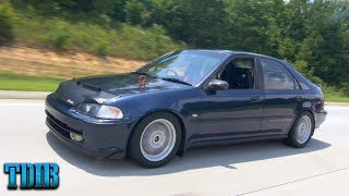 Integra Type R Swap Civic Review! -Revving To The Sky!