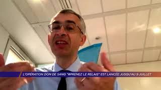 Yvelines | L'opération de don de sang «#Prenez le relais» est lancée jusqu'au 9 juillet
