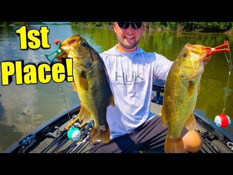 We WON!! 1st Place Bass Fishing Tournament |Mississippi River Pool 7| 2019