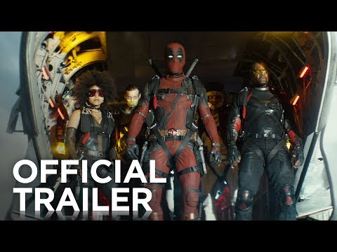 Deadpool 2 | The Trailer: After surviving a near fatal bovine attack, a disfigured cafeteria chef (Wade Wilson) struggles to fulfill his dream of becoming Mayberry's hottest bartender while also learning to cope with his lost sense of taste. Searching to regain his spice for life, as well as a flux capacitor, Wade must battle ninjas, the yakuza, and a pack of sexually aggressive canines, as he journeys around the world to discover the importance of family, friendship, and flavor – finding a new taste for adventure and earning the coveted coffee mug title of World's Best Lover.   In Theaters May 18, 2018  Connect with Deadpool Online: http://fox.co/DeadpoolMovieSite Like Deadpool on FACEBOOK: http://fox.co/DeadpoolFB Follow Deadpool on TWITTER: http://fox.co/DeadpoolTwitter Follow Deadpool on INSTAGRAM: http://fox.co/DeadpoolInstagram