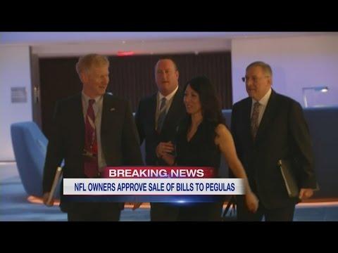 NFL owners approve Pegulas' bid for Bills