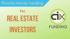 Private & Hard Money Funding For Real Estate Investors. CiX.Com