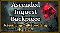 Guild Wars 2  - Repairing & Rebooting IG-6417 (Inquest Backpiece)