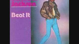 beat it micheal jackson {with lyrics}