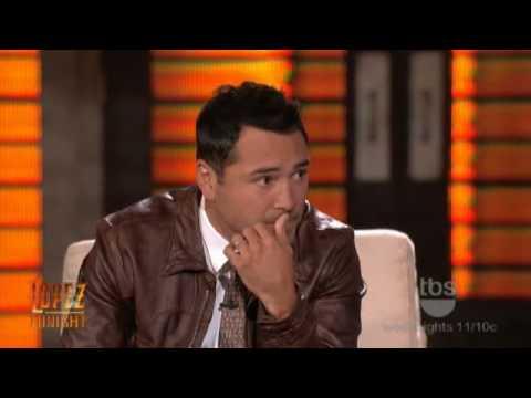 Lopez Tonight - Oscar De La Hoya - Interview - Part 1 of 3