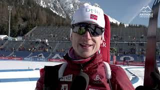 Greetings from antholz - bmw ibu world cup biathlon / anterselva