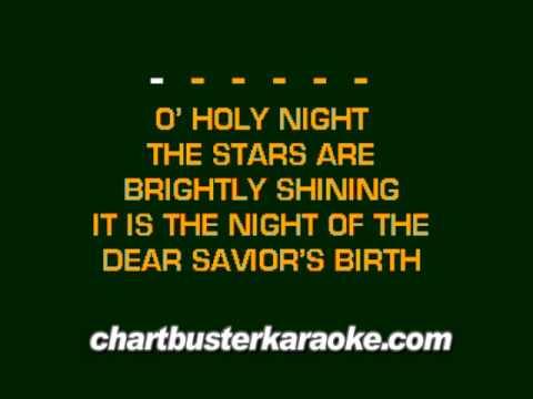 O' Holy Night (Chartbuster Karaoke)