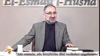 Aile reisinin aile bireylerine dini vecibeleri uygulatması... Mustafa İslamoğlu