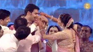 Akash Ambani's Sasu Maa Adorably Pulls His Nose At His Marriage With Shloka Mehta