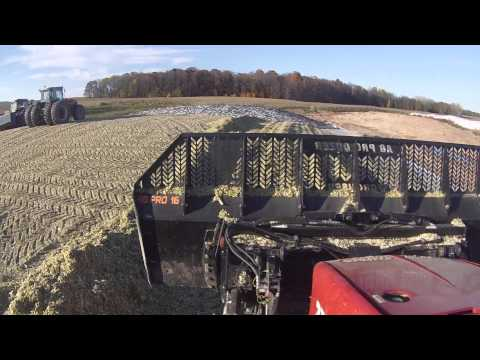 Pushing and Packing Corn Silage in Wisconsin