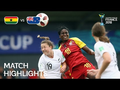 Ghana v New Zealand - FIFA U-20 Women's World Cup France 2018 - Match 18