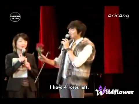 [20101123] Arirang Showbiz Extra - Lee Min H @ Peace & Love 2010