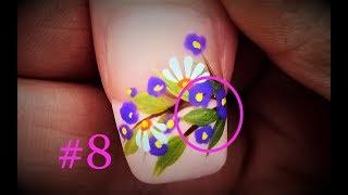 Filler Flowers For a Flawless Finish. #8 Beginner Nail Art Designs