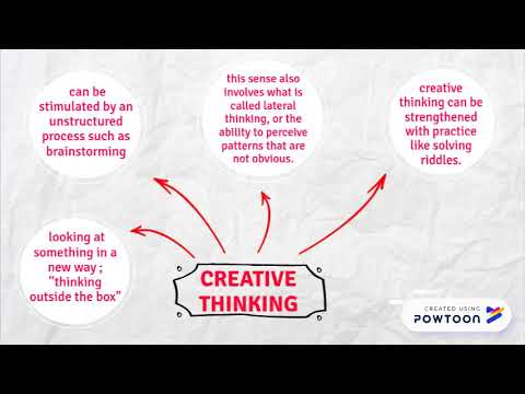 Differences Between Creative & Critical Thinking