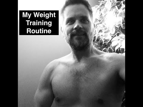 My 2018 Weight Training Routine