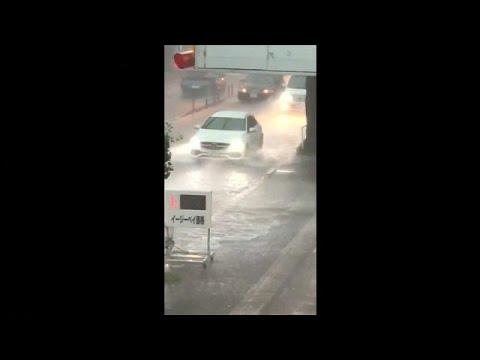 يورو نيوز:انقطاع الكهرباء عن 8700 أسرة يابانية بسبب الأمطار الغزيرة…