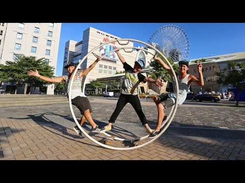 This Human Hamster Wheel is One Crazy Ride! - Behind the Scenes