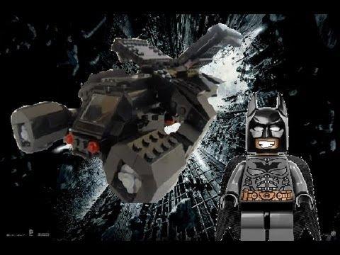 LEGO The Bat from The Dark Knight Rises - YouTube