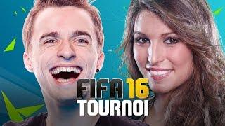 SQUEEZIE vs LAURY THILLEMAN - Tournoi FIFA 16