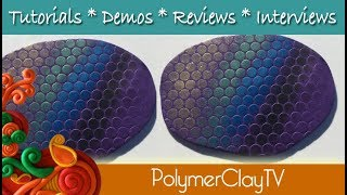 What to do with powdered pigments and polymer clay