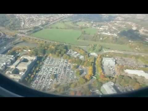 British Airways Flight 2263 London Gatwick Airport to NMIA Kingston Jamaica takeoff and landing
