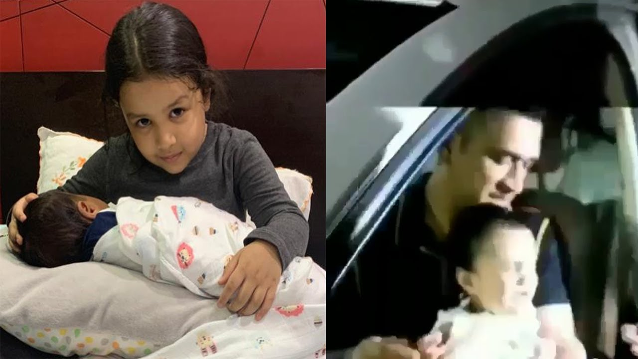 Know Whose Baby MS Dhoni's Daughter Ziva dhoni holding in her lap pic shared by Sakshi goes viral.