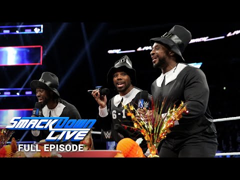 WWE SmackDown LIVE Full Episode, 20 November 2018