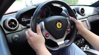 Como manejar un Ferrari California / Driving a Ferrari California in Doral City
