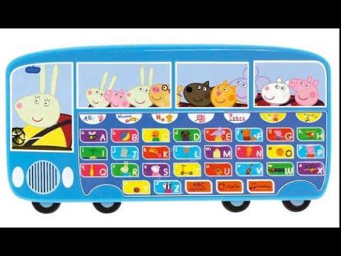 Peppa Pig Toy Train | Peppa Pig Musical Alphabet Bus | Peppa Pig Cases | Gertude the Train