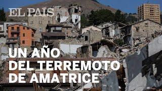 Se cumple un año del terremoto de Amatrice (Italia)   Internacional