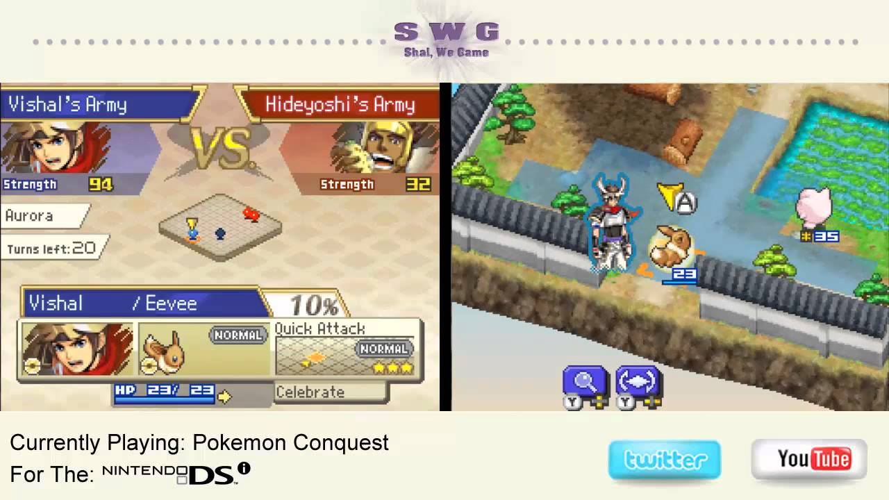 how to catch pokemon in pokemon conquest