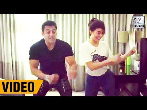 Salman And Jacqueline DANCING On Chalti...