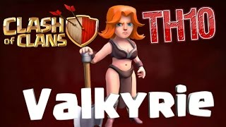 TH10/11 | How to Use Valkyries Post Update March 2016 | Clash of Clans