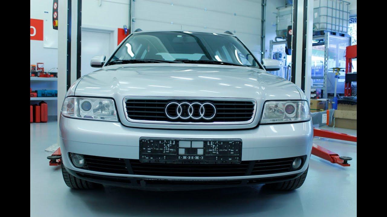 Audi A4 Hvordan Bytte Bremser Foran Skiver Klosser