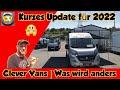 CLEVER VANS | MODELL 2022 | Erste Einblicke | KASTENWAGEN INFORMATIONEN
