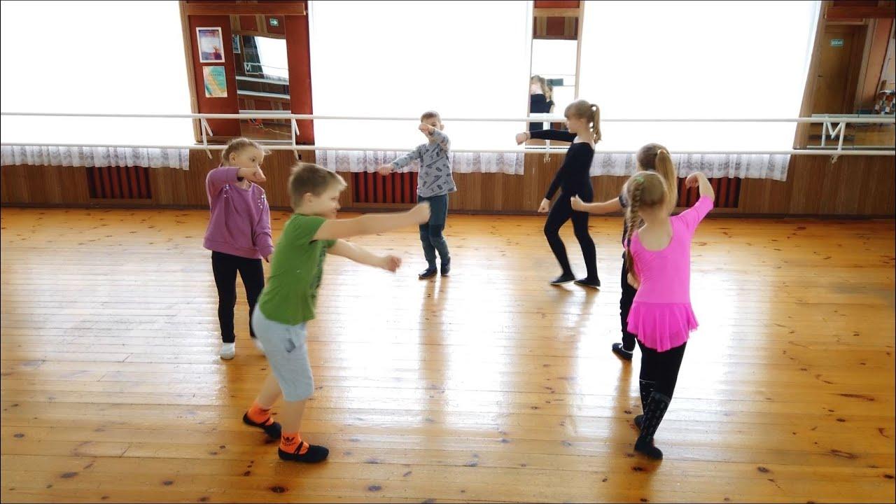 Веселые путешественники танец для детей
