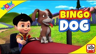 BINGO-DOG SONG mit Vir: Der Roboter-Boy - Cartoon-Animation Kinderreime Lieder von WowKidz Reime