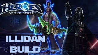 Heroes of the Storm (Gameplay) - Illidan Build, Let the Hunt Begin