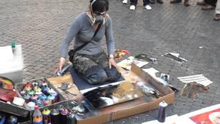 ARTISTA DE RUA EM ROMA