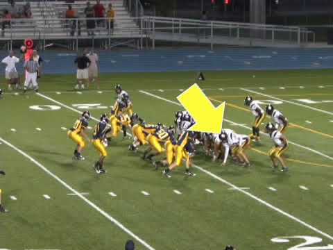 Stephen Blake Davis # 88 TE / H-back high school football highlights Class of 2012