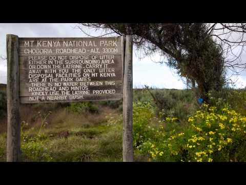 Mt Kenya - Chogoria route