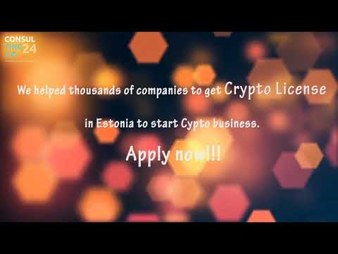 Crypto Exchange License Estonia